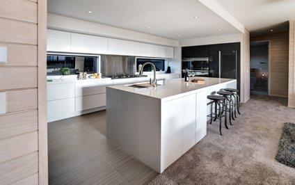 Our timbermode homes kitset homes nz for Kitset kitchens