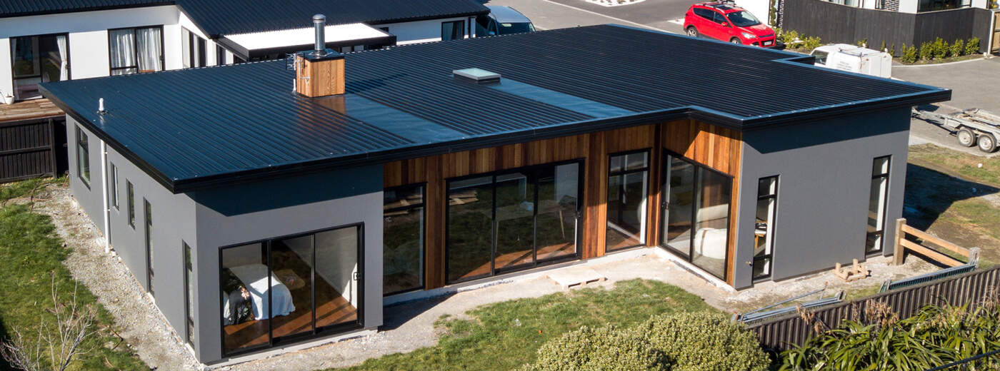 Roof - Mono-pitched roof