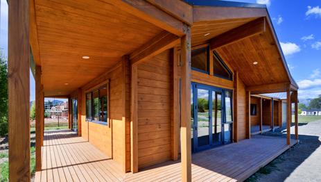 Modern timber kitset home designs NZ