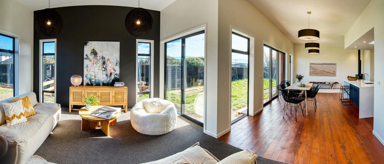 Small cosy homes NZ modern design