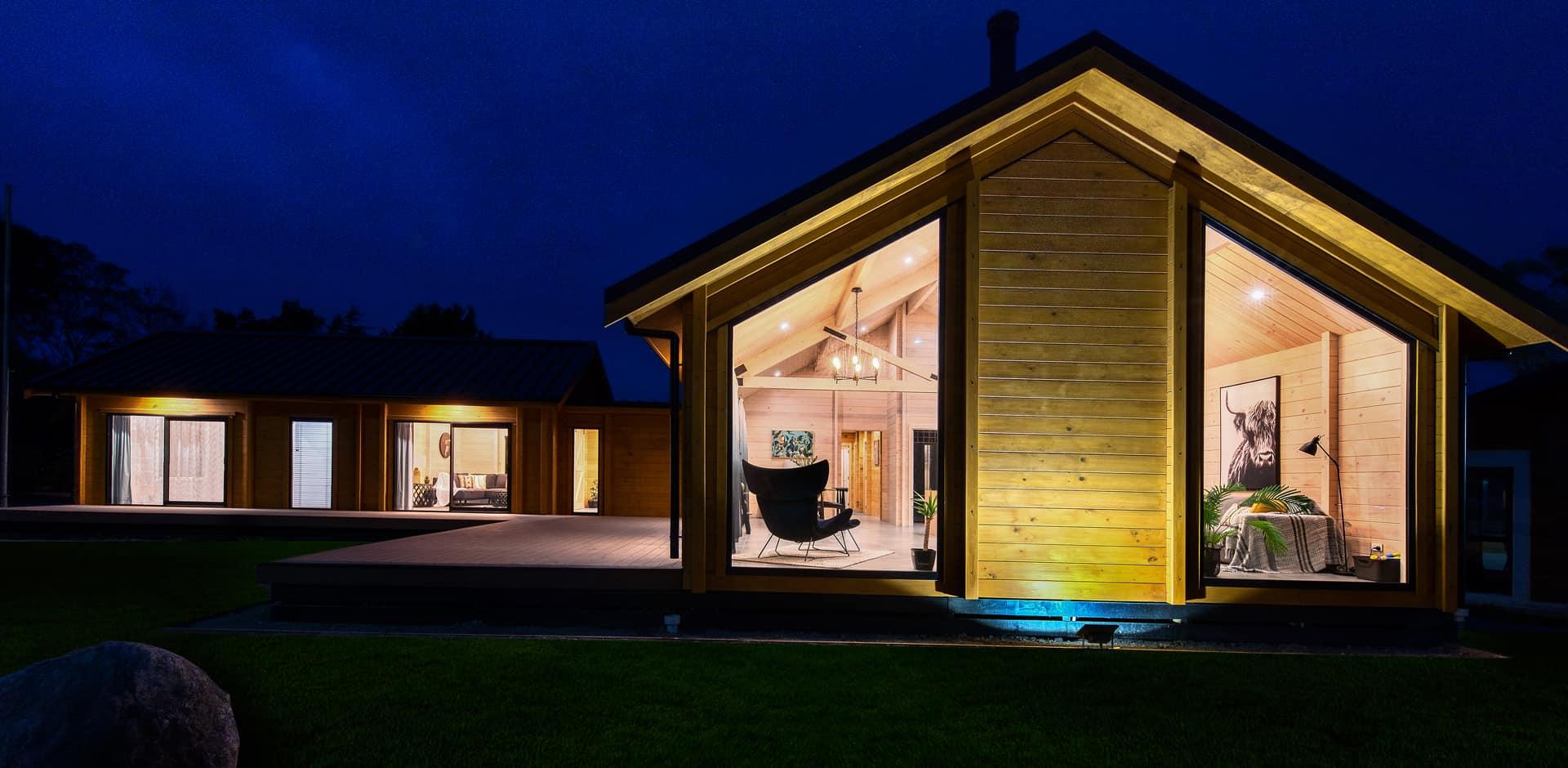 Timber pavilion show home Christchurch enviro friendly