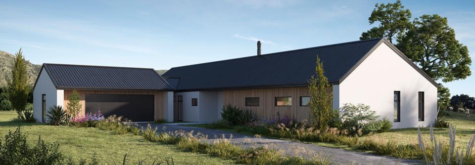 Designer 4 bedroom kitset home design NZ